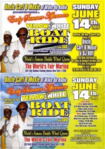 2015 YELLOW & WHITE EARLY SUMMER BOATRIDE