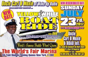 2017 YELLOW & WHITE EARLY SUMMER BOATRIDE